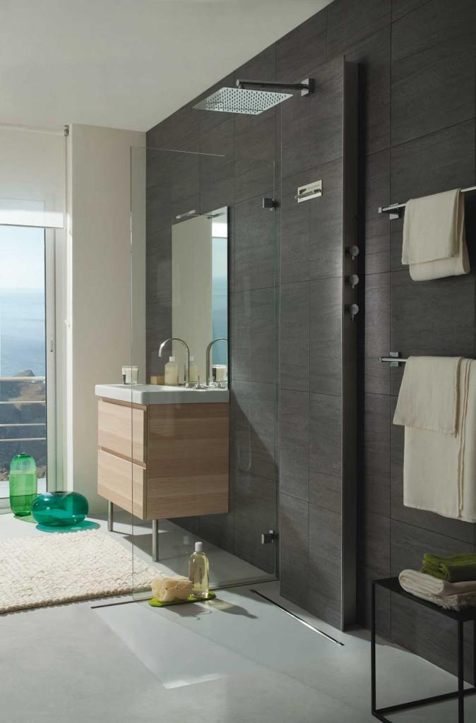 alimenter une douche sans travaux d 39 encastrement i. Black Bedroom Furniture Sets. Home Design Ideas