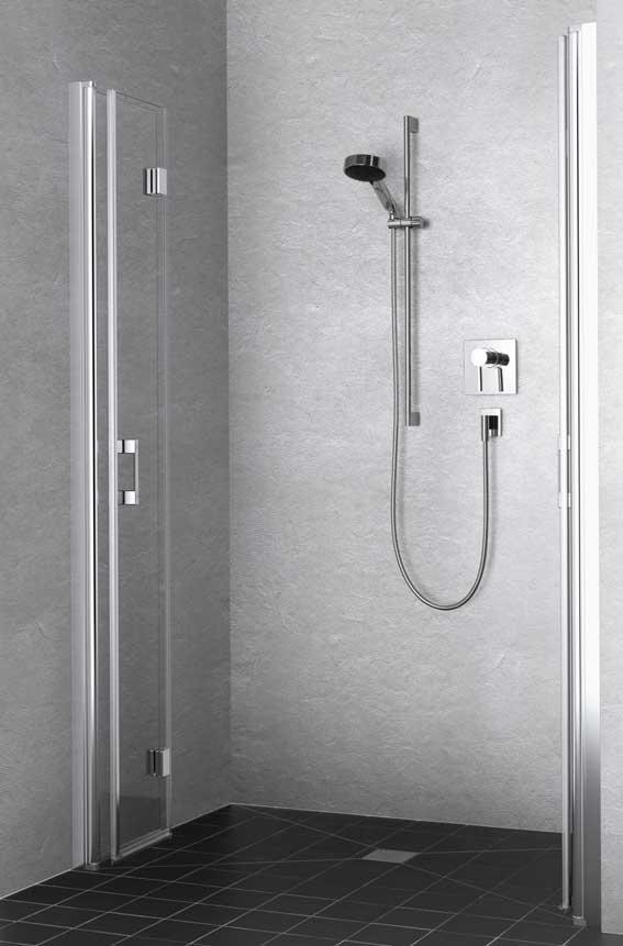 Porte de douche pivotante repliable liga de rothalux i sdbpro for Porte de douche rothalux