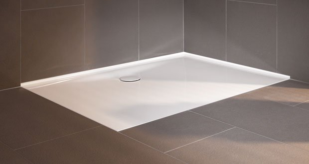 Floor side de bette sans joint silicone au mur for Joint salle de bain moisi