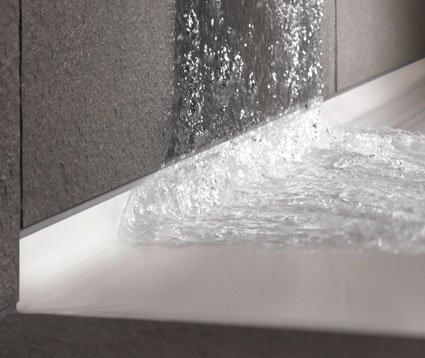 Floor side de bette sans joint silicone au mur sdbpro - Realiser une douche avec receveur ...
