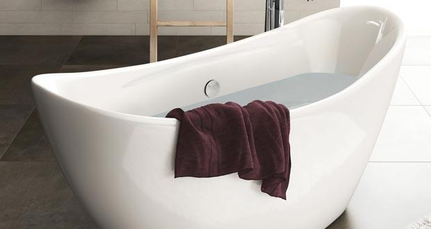 Tellia d 39 aquarine une baignoire lot petit prix sdbpro for Peut on repeindre une baignoire
