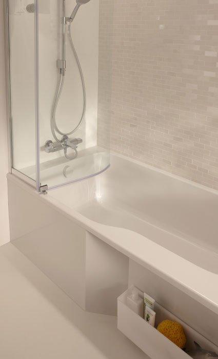 Douche Dans Baignoire : Malice de jacob delafon une bain douche astucieuse sdbpro