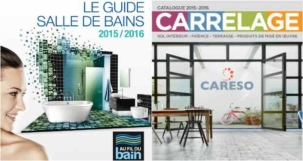 Algorel le carrelage a aussi son catalogue sdbpro for Catalogue carrelage salle de bain