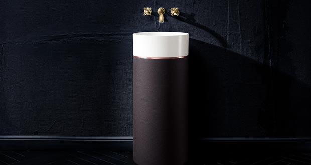 octagon de villeroy boch un lavabo totem pr cieux. Black Bedroom Furniture Sets. Home Design Ideas