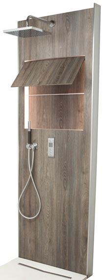 ecrin de jacob delafon panneau technique et d co pour la douche. Black Bedroom Furniture Sets. Home Design Ideas