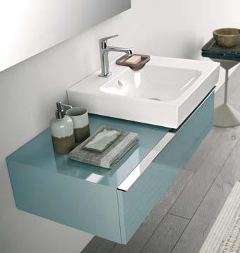 Lovely DAllia Simplicité Et Légèreté Au Point Deau Sdbpro - Meuble lavabo salle de bain allia