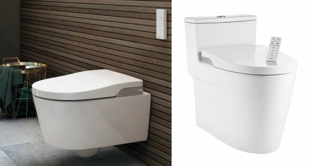 In wash de roca un wc lavant suspendu ou sur pied for In wash de roca