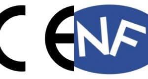 Normes CE et Certifications NF
