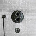 Encastrer la robinetterie de douche
