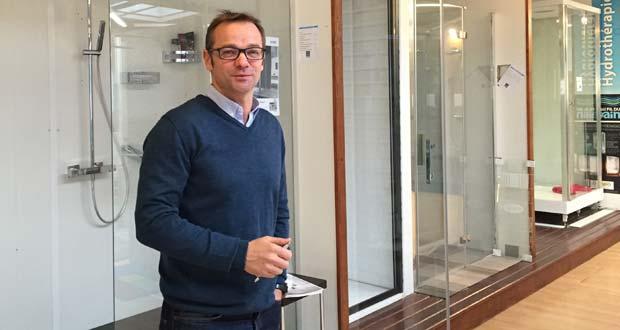François Garrigou, nouveau président d'Au Fil du Bain