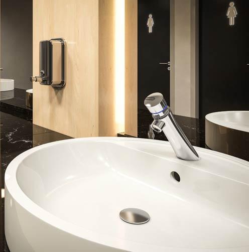 robinet temporisé de lavabo Presto