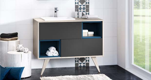 mosa que de discac un meuble vasque personnalisable sdbpro. Black Bedroom Furniture Sets. Home Design Ideas