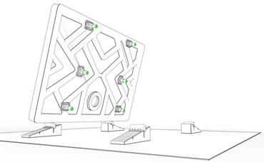 Stabilifast de Lazer schéma