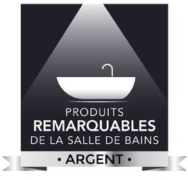 Palmarès 2017 des Produits remarquables de la salle de bains argent