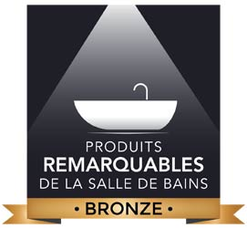 Palmarès 2017 des Produits remarquables de la salle de bains bronze