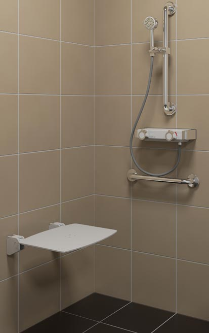 Mitigeurs thermostatiques Sanifirst douche ambiance