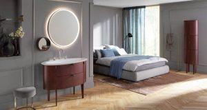 la collection de meuble de salle de bain Diva 2.0 de Burgbad, ambiance dans une chambre