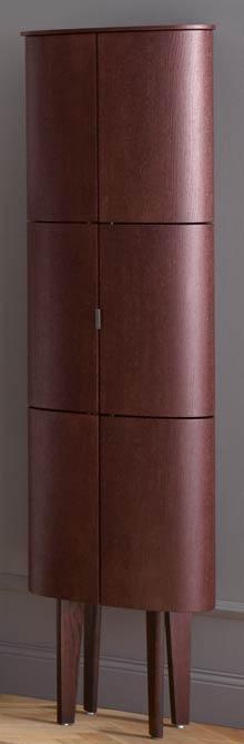 La colonne coiffeuse de la collection de meuble de salle de bains Diva 2.0 de Burgbad, fermée