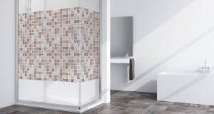Exemple de décor sur paroi de douche Imagik de Profiltek