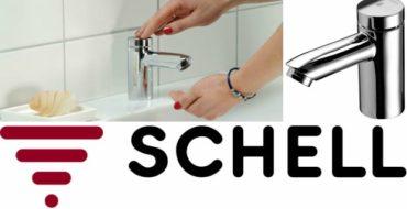 Petit SC HD-M de Schell : un robinet temporisé petit et robuste