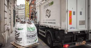 La collecte des déchets de chantier avec le sac Big Bag N Go
