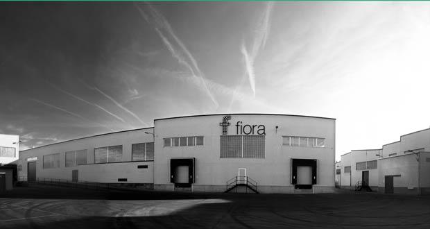 Vue de l'usine de Fiora, racheté par Royo Group