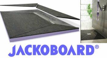 Jackoboard Aqua Cera Premium : un receveur de douche pré-carrelé