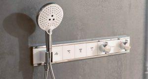 Commande de douche multijets RainSelect de Hansgrohe