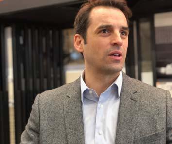 Sébastien Attina, directeur général de Bricoman