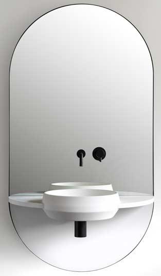 Point d'eau Arco, Ex.t, salon de la salle de bains, Milan 2018