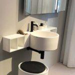 Meuble de salle de bains Cielo, Tendance Milan 2018 au point d'eau