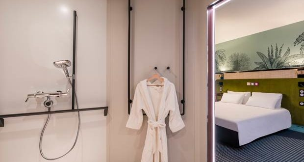 La douche dans la Smart Room Hotels Accor