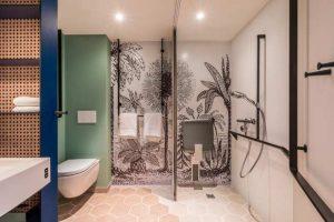 La salle de bains de la Smart Room des hotels Accor