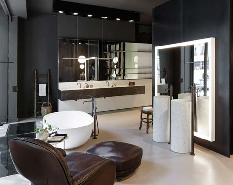 la nouvelle implantation parisienne de boffi d di e au bain sdbpro. Black Bedroom Furniture Sets. Home Design Ideas