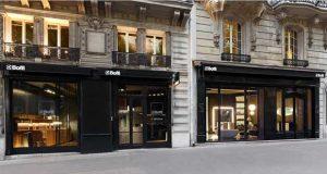 Vitrine du magasin Boffi Bain Paris