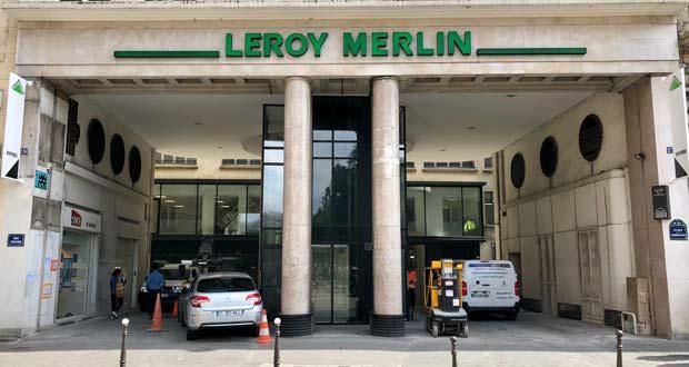 A Paris Leroy Merlin Prend Ses Quartiers à La Madeleine
