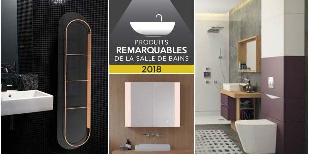 Mosaique des produits remarquables de la salle de bains 2018