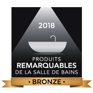 Logo Produits remarquables de la salle de bains 2018, Bronze