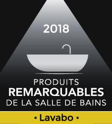 Logo produit remarquable de la salle de bains 2018