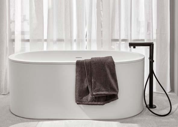 Petite baignoire ilot Cibele L de Cielo