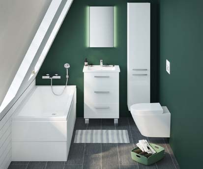 Integra de VitrA : une salle de bains qui va à tout le monde !