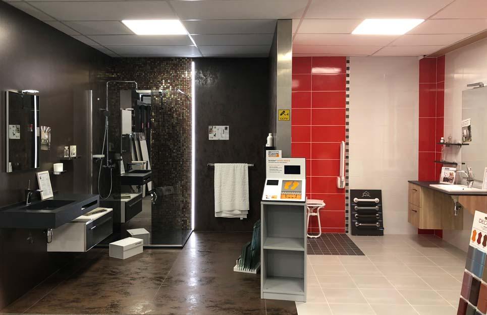 Bos salle de bains dans le magasin VM de Royans