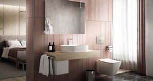 Meuble Adapto d'Ideal Standard dans une salle de bains