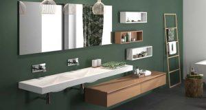 Ambiance salle de bains avec la gamme Extanso de Cedam.