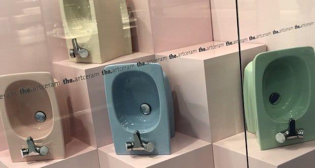 Cersaie 2018 : WC aux couleurs vintages