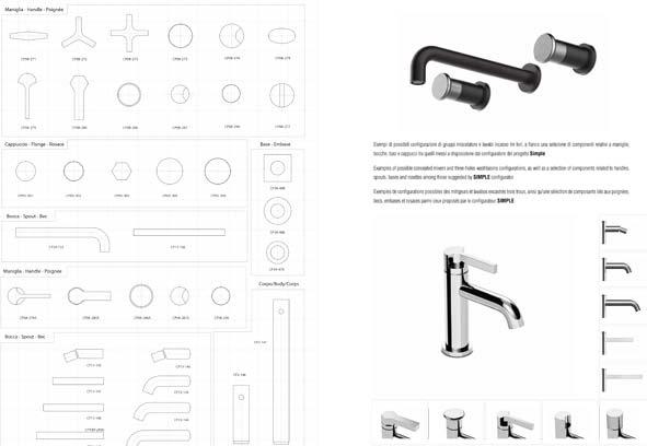 Créer un robinet avec Simple de Stella : les différentes configurations.
