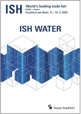 Affiche ISH Water 2019