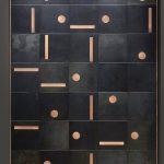 Tendance carrelage avec insert or : De Castelli