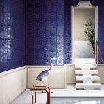 Cersaie 2018 : tendance Bleu, carrelage Ceramica Vogue