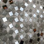 Carrelage façon verre mercurisé : Castelli